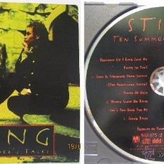 CDs de Música: CD--STING--TEN SUMMONER'S TALES. Lote 50458532