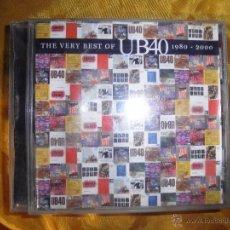 CDs de Música: THE VERY BEST OF UB4O. 1980-2000. CD EDICION EXTRANJERA. Lote 50459611