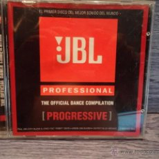 CDs de Música: JBL PROFESSIONAL. PROGRESSIVE. CD / COOL SOUND MUSIC - 2003. 13 TEMAS - CALIDAD LUJO.. Lote 50476727