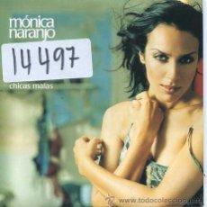 CDs de Música: MONICA NARANJO / CHICAS MALAS (CD SINGLE CARTON PROMO 2001). Lote 50501256
