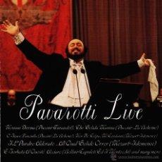 CDs de Música: LUCIANO PAVAROTTI-PAVAROTTI LIVE CD ALBUM (UK). Lote 50511568