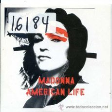 CDs de Música: MADONNA / AMERICAN LIFE (2 VERSIONES) CD SINGLE CARTON PROMO 2003. Lote 50516464
