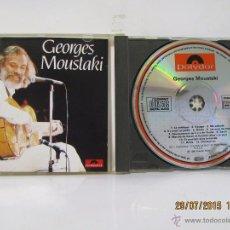 CDs de Música: GEORGES MOUSTAKI--CD CON SUS 12 MEJORES CANCIONES--PERFECTO ESTADO. Lote 50516805