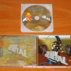 CDs de Música: VV.AA. - METAL ON METAL [SLUGATHOR, FLAME, EVIL ANGEL, JUMALATION...] - CD. Lote 50543811