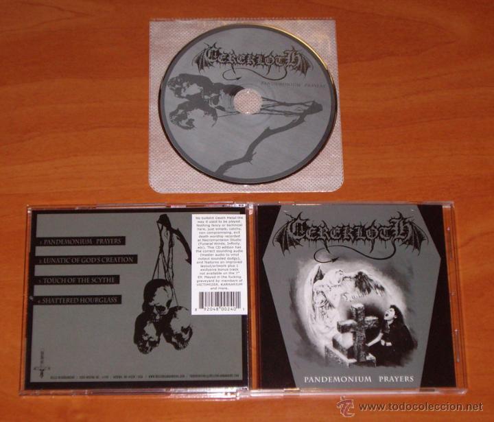 CEREKLOTH - PANDEMONIUM PRAYERS -MCD (Música - CD's Heavy Metal)