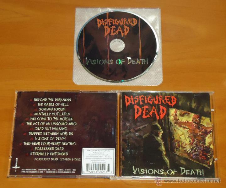 DISFIGURED DEAD - VISIONS OF DEATH - CD [HELLS HEADBANGERS, 2010] (Música - CD's Heavy Metal)