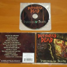 CDs de Música: DISFIGURED DEAD - VISIONS OF DEATH - CD [HELLS HEADBANGERS, 2010]. Lote 50545907