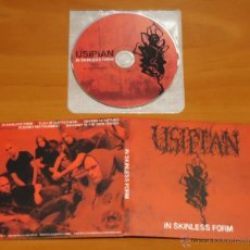 CDs de Música: USIPIAN - IN SKINLESS FORM - MCD DIGIPAK [NUCLEAR WINTER RECORDS, 2009] DEATH METAL. Lote 50545937