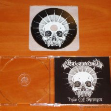 CDs de Música: CEREKLOTH - HALO OF SYRINGES - MCD [HELLS HEADBANGERS, 2011]. Lote 50546526