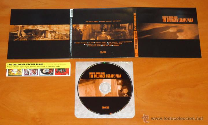 THE DILLINGER ESCAPE PLAN - UNDER THE RUNNING BOARD - MCD [RELAPSE RECORDS, 2008] (Música - CD's Heavy Metal)