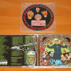 CDs de Música: AGORAPHOBIC NOSEBLEED - ALTERED STATES OF AMERICA - MCD [RELAPSE RECORDS, 2003] GRINDCORE NOISE. Lote 50547689