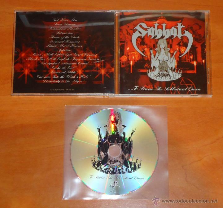 SABBAT - ...TO PRAISE THE SABBATICAL QUEEN - CD [IRON PEGASUS RECORDS, 2004] (Música - CD's Heavy Metal)