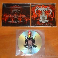 CDs de Música: SABBAT - ...TO PRAISE THE SABBATICAL QUEEN - CD [IRON PEGASUS RECORDS, 2004]. Lote 50549181