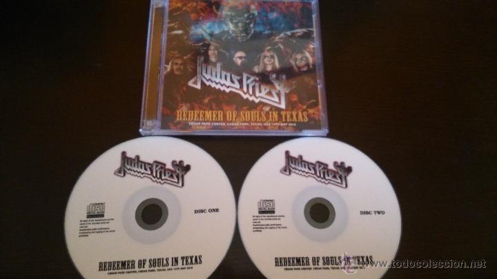 JUDAS PRIEST REDEEMER OF SOULS IN TEXAS 2 CDR BOX (Música - CD's Heavy Metal)
