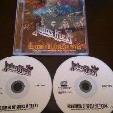 CDs de Música: JUDAS PRIEST REDEEMER OF SOULS IN TEXAS 2 CDR BOX. Lote 50557671