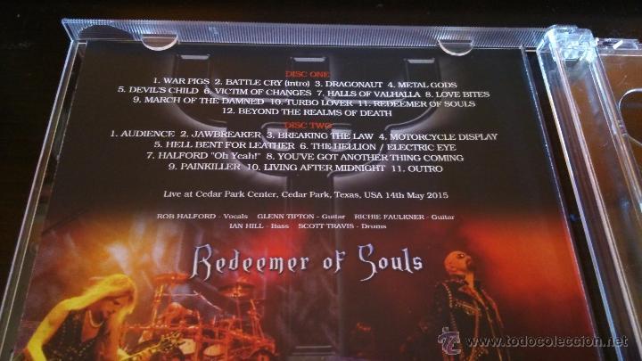 CDs de Música: Judas Priest Redeemer Of Souls in Texas 2 cdr Box - Foto 2 - 50557671