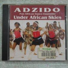 CDs de Música: ADZIDO - UNDER AFRICAN SKIES - CD 2002. Lote 50584046