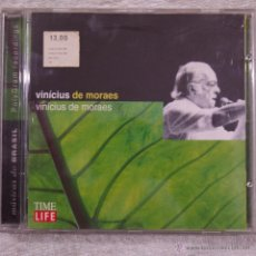 CDs de Música: VINICIUS DE MORAES - MUSICAS DO BRASIL - CD. Lote 50584185