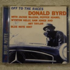 CDs de Música: THE BLUE NOTE COLLECTION - DONALD BYRD - OFF TO THE RACES - CD 1997. Lote 50584235