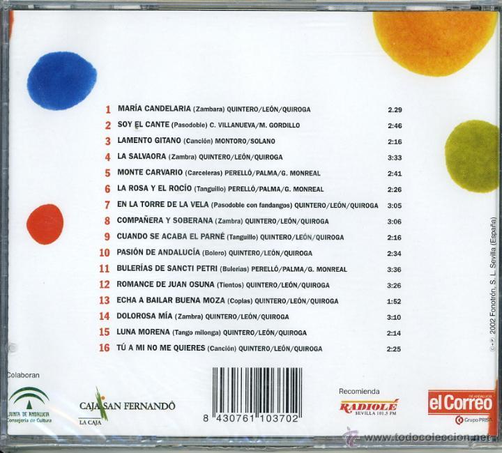 CDs de Música: GRANDES DE LA COPLA. MANOLO CARACOL. EDICIÓN LIMITADA EL CORREO DE ANDALUCÍA - Foto 2 - 50584559