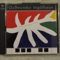 CDs de Música: GUDMUNDUR INGÓLFSSON - 2 CDS 1994. Lote 50587291