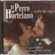 CDs de Música: CD EL PERRO DEL HORTELANO ( BANDA SONORA DE JOSE NIETO ) . Lote 50594438