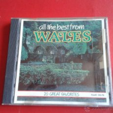 CDs de Música: CD NUEVO SIN PRECINTAR ALL THE BEST FROM WALES FOLK FOLKLORE GALES GRAN BRETAÑA REF CD A. Lote 50599013