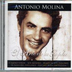 CDs de Música: CD EL ARTE DE LA COPLA. ANTONIO MOLINA. Lote 50609105