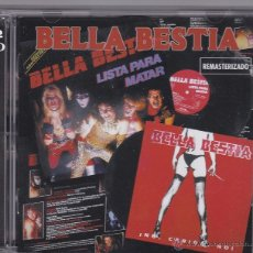 CDs de Música: BELLA BESTIA - LISTA PARA MATAR - NO, CARIÑO, NO - 2 CDS - REMASTERIZADO. Lote 50617086