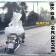 CDs de Música: B.B.KING WITH ERIC CLAPTON / MARRY YOU (CD SIGLE PROMO CAJA 2000). Lote 50622083