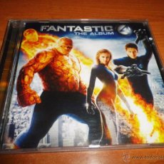 CDs de Música: FANTASTIC 4 THE ALBUM BANDA SONORA CD ALBUM VELVET REVOLVER JOSS STONE ANASTACIA LOS 4 FANTASTICOS. Lote 50651083