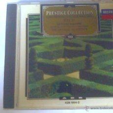 CDs de Música: BACH - LAS 4 SUITES ORQUESTALES. Lote 50667543