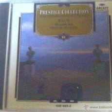 CDs de Música: BACH - OBRAS PARA CLAVE. Lote 50667583