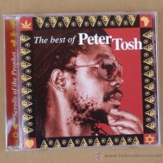 CDs de Música: PETER TOSH - SCROLLS OF THE PROPHET - THE BEST OF (CD). Lote 50669744