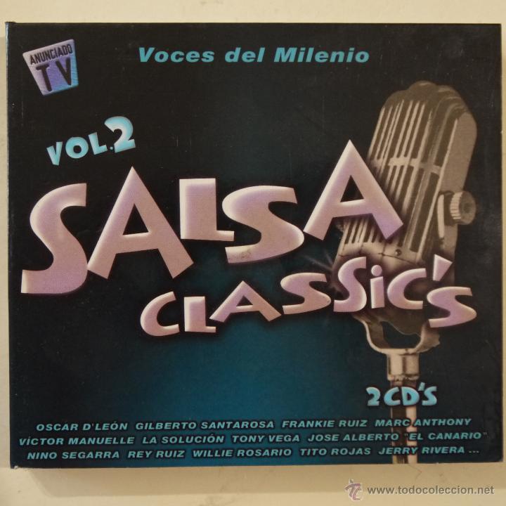 SALSA CLASSIC'S VOL. 2 - VOCES DEL MILENIO - 2 CDS (Música - CD's Otros Estilos)