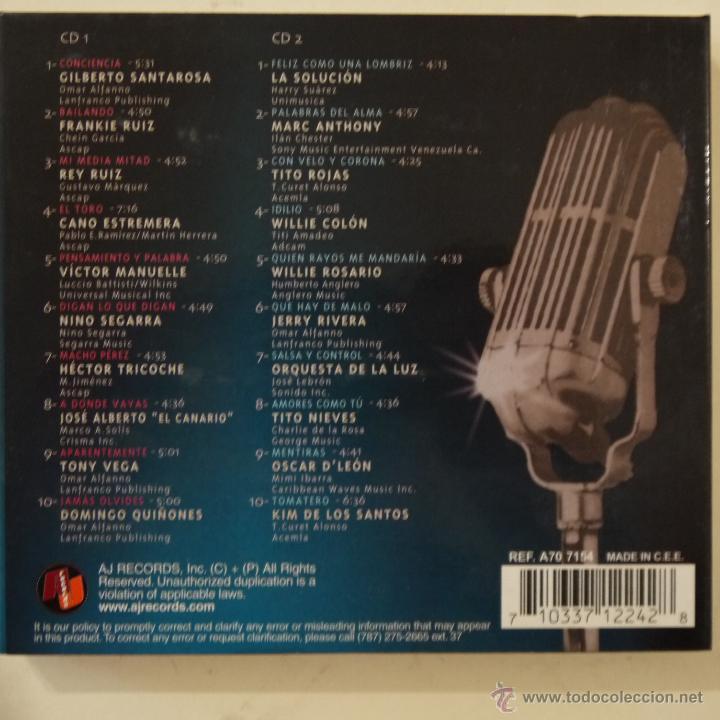 CDs de Música: SALSA CLASSICS VOL. 2 - VOCES DEL MILENIO - 2 CDS - Foto 2 - 50673380
