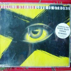 CDs de Música: THE ROLLING STONES.LOVE IS STRONG...CD MAXI 6 TEMAS...MUY RARO. Lote 50733531