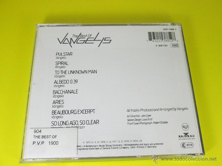 CDs de Música: AºCD-THE BEST OF VANGELIS-RCA/BMG-RECOPILACIÓN 1975/6/7/8-6TEMAS-RCA/BMG-PERFECTO-VER FOTOS. - Foto 4 - 50751173