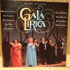 CDs de Música: GALA LÍRICA DESDE SEVILLA. CD / BMG-ARIOLA - 1991. 16 TEMAS. CALIDAD LUJO. LEER.. Lote 50751405