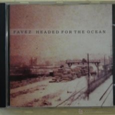 CDs de Música: FAVEZ - HEADED FOR THE OCEAN - CD SINGLE DE 4 CACIONES 2000. Lote 50763509