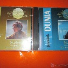 CDs de Música: 2 CDS-EVELYN-MUSICA PARA SOÑAR-20 TEMAS-1993-TECOP/GESTEC-NUEVOS. Lote 50780467