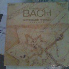 CDs de Música: JOHANN SEBASTIAN BACH - KEYBOARD WORKS (COMPLETE). Lote 50785168