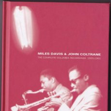 CDs de Música: MILES DAVIS & JOHN COLTRANE - THE COMPLETE COLUMBIA RECORDINGS 1955-1961 - 6 CDS BOX SET. Lote 50791232