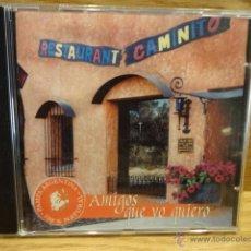 CD de Música: RESTAURANT CAMINITO - FORMENTERA. AMIGOS QUE YO QUIERO.CD / MDS - 2002. 13 TEMAS. LUJO / RARO.. Lote 50791457