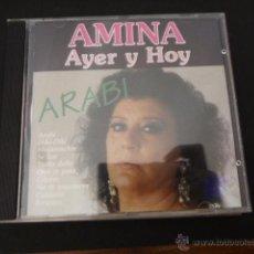 CDs de Música: AMINA. AYER Y HOY. 10 TEMAS. Lote 50804973