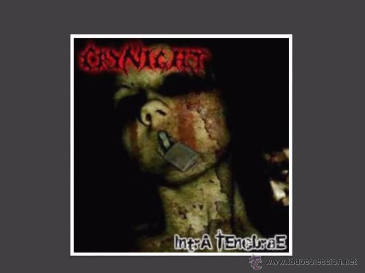 CRYNIGHT. INTRA TENEBRAE. CD-2007. 9 TEMAS. PRECINTADO. (Música - CD's Heavy Metal)