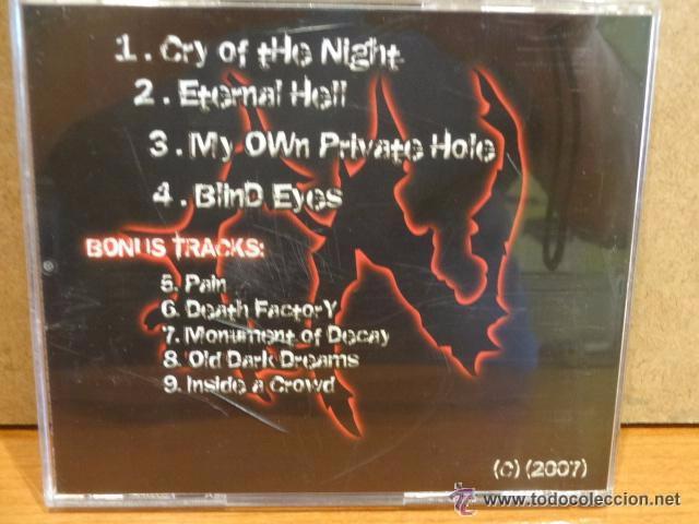 CDs de Música: CRYNIGHT. INTRA TENEBRAE. CD-2007. 9 TEMAS. PRECINTADO. - Foto 2 - 50808178