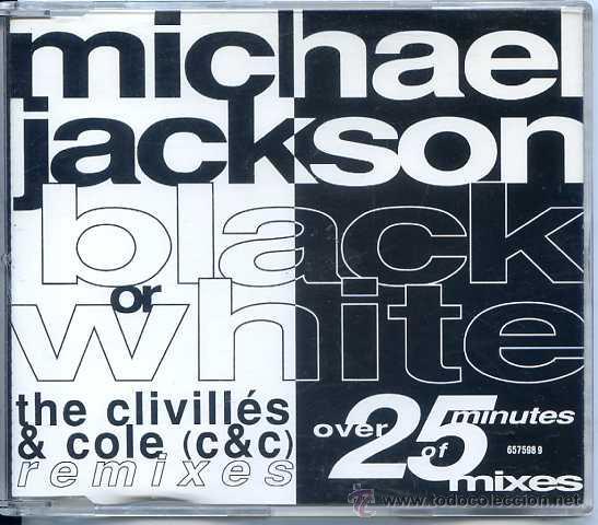 MICHAEL JACKSON / BLACK OR WHITE (5 VERSIONES) CD SINGLE CAJA 1991) (Música - CD's Pop)