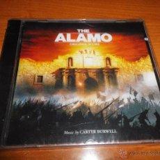 CDs de Música: THE ALAMO BANDA SONORA CD ALBUM PRECINTADO DEL AÑO 2004 MUSICA DE CARTER BURWELL 26 TEMAS. Lote 50851907