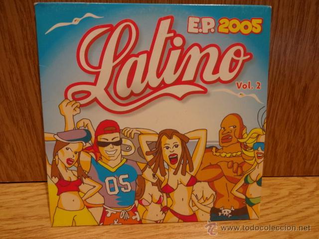LATINO. VOL 2. CD-EP / KONGA MUSIC. 5 TEMAS. CALIDAD LUJO. (Música - CD's Latina)